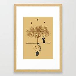 RESPECT THE NATURE Framed Art Print
