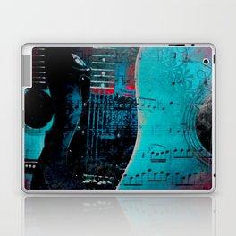 TURQUOISE GUITARS Laptop & iPad Skin