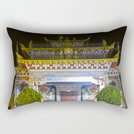 Manjushri Hall - Tibetan Buddhist Temple Rectangular Pillow