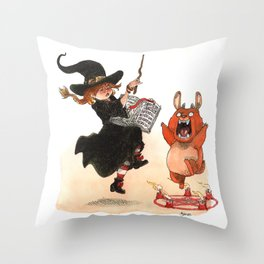 Sorcery! Throw Pillow