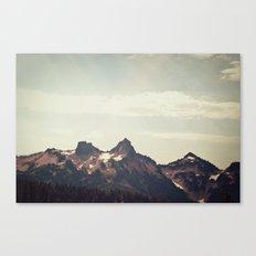 Mountain Ridge Morning Canvas Print
