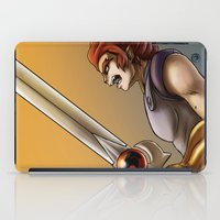 thundercats iPad Cases featuring Leon-O by Sabina  Daldovo