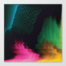 Dreamscape - Glitch Art Canvas Print