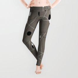 Molecular Pattern Leggings