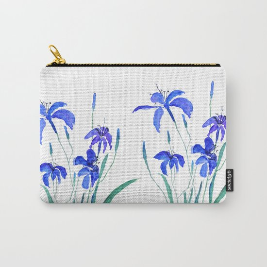 blue day lily Carry-All Pouch