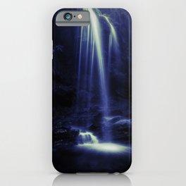 Blue Falls iPhone Case