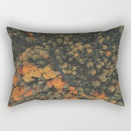 View from above Rectangular Pillow
