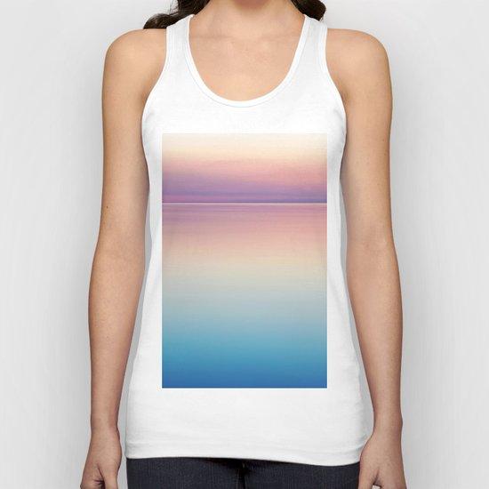 Color Layers Sunrise Sea Unisex Tank Top