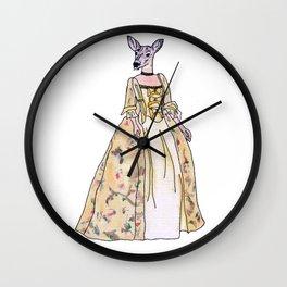 Lady Deer Wall Clock