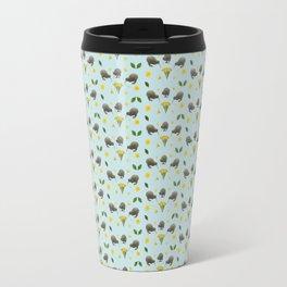 Kiwis and Flowers Travel Mug