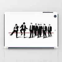 blues brothers iPad Cases featuring Reservoir Brothers by The Cracked Dispensary
