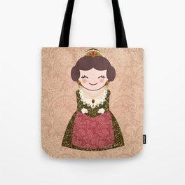 Kokeshi Fallera  Tote Bag