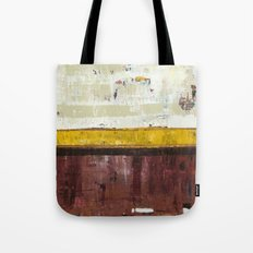 Timber Maroon Gold Abstract Art Painting Tote Bag