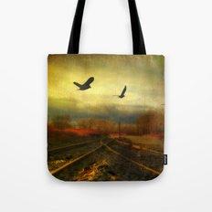 Flight Of The Blackbirds Tote Bag