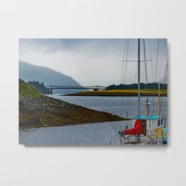 The Bridge over Loch Metal Print