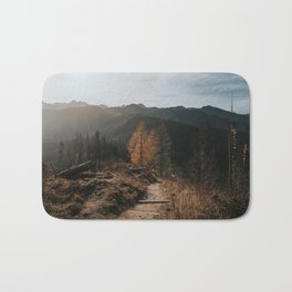 Autumn Hike - Landscape and Nature Photography Bath Mat