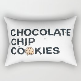 Favourite Things - Chocolate Chip Cookies Rectangular Pillow