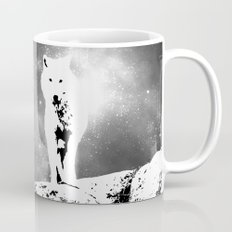 Walking on the moon Wolf Mug