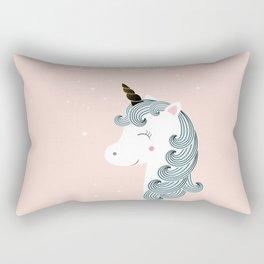 I love unicorns Rectangular Pillow
