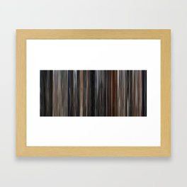 Raiders of the Lost Ark - Palette Painting Framed Art Print