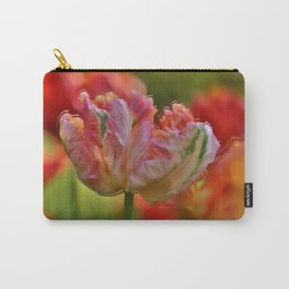 Parrot Tulips of Villa Taranto in Italy in the Wind Carry-All Pouch