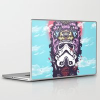 storm trooper Laptop & iPad Skins featuring Apache Storm Trooper by Darylenvi