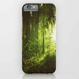 Mid Century Forest iPhone Case
