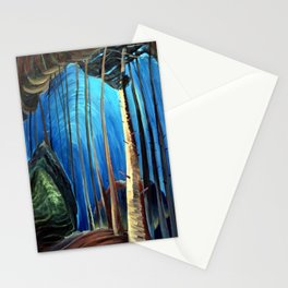 Emily Carr - Blue Sky - Canada, Canadian Oil Painting - Group of Seven Stationery Cards