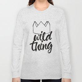 Wild Thing Long Sleeve T-shirt