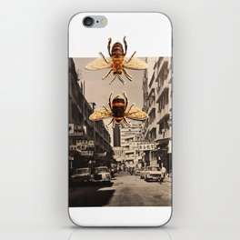 Bee Trouble in Little China iPhone Skin