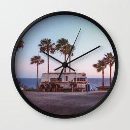 California wind Wall Clock
