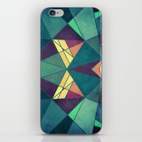 starry night iPhone & iPod Skins featuring Starry Night by VessDSign