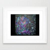 pretty little liars Framed Art Prints featuring Pretty Little Liars Galaxy by Alexandrapatton12