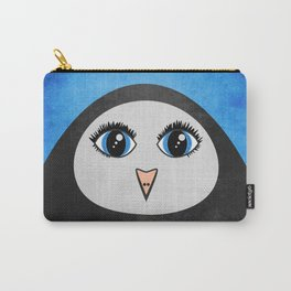 Cute Geometric Penguin Carry-All Pouch