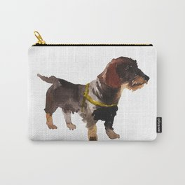 watercolor dog vol 10 dachshund Carry-All Pouch