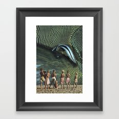 Dubious Phenomenon Framed Art Print
