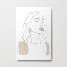 Sun-Kissed Metal Print