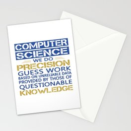 COMPUTER SCIENCE Stationery Cards