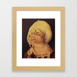 Another Portrait Disaster · mit Albrecht Framed Art Print