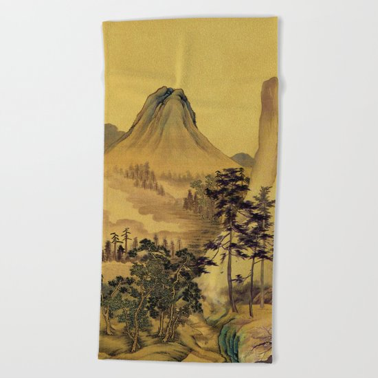 12000 steps - the Pilgrimage Beach Towel