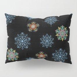 Dancing Snowflakes Pillow Sham