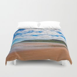 Waterfoot Beach Duvet Cover