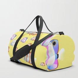 Tropical fish Yellow edition Duffle Bag