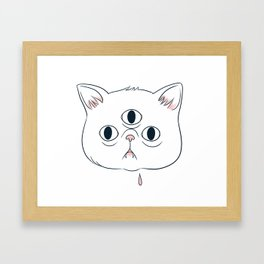 Catto Framed Art Print