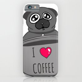 Cute Mug with Dog iPhone Case