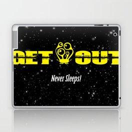 GETOUT Never Sleeps Laptop & iPad Skin