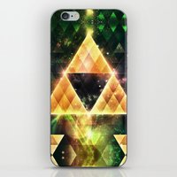 triforce iPhone & iPod Skins featuring Triforce by Spires