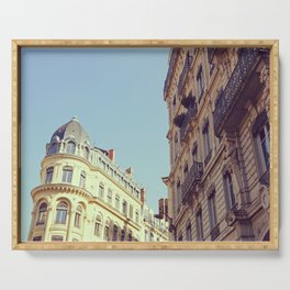 French corners | Dreamy architecture in France | Travel Photography Serving Tray