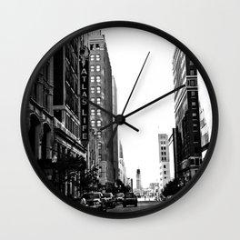 Downtown Tulsa  Wall Clock