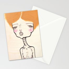 """""""Frizzy Hair and Nervous Charm"""" Stationery Cards"""